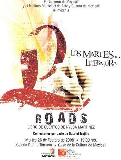 """Presentación del Libro """"Roads"""" de Nylsa Martínez Morón"""